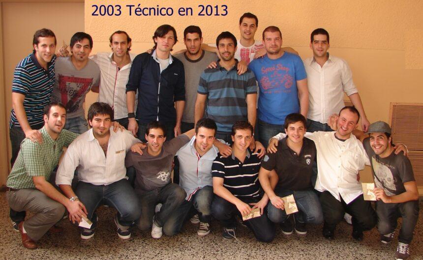 2003 - Colegio León XIII